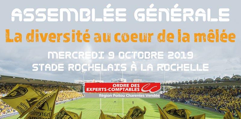 Assemblée Générale de l'Ordre des Experts Comptables Poitou-Charentes-Vendée 2019 à La Rochelle