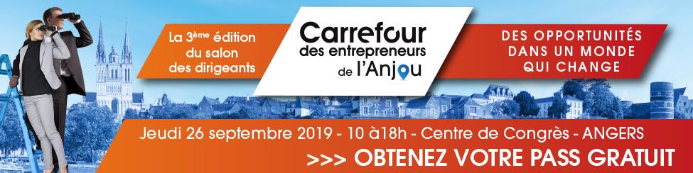 Salon Professionnel « Carrefour des Entrepreneurs de l'Anjou »