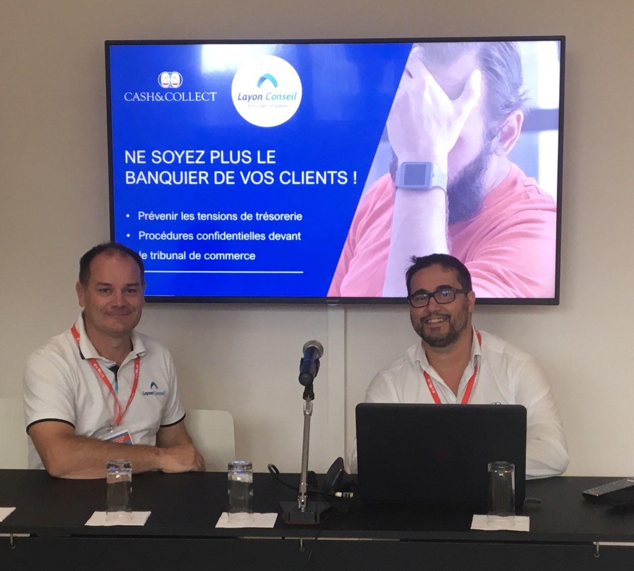 Conférence de Guillaume MARTIN et Dominique Viejo pour le Carrefour des Entrepreneurs de l'Anjou