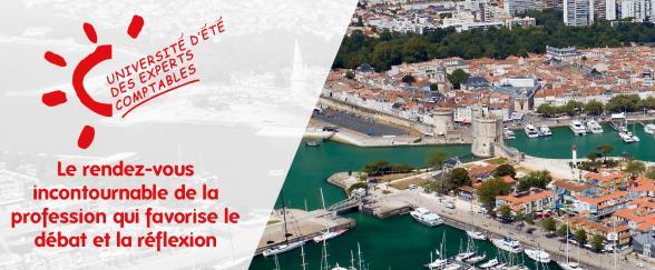 Université d'été Ordre des Experts-Comptables région Nouvelle Aquitaine 2021 à La Rochelle