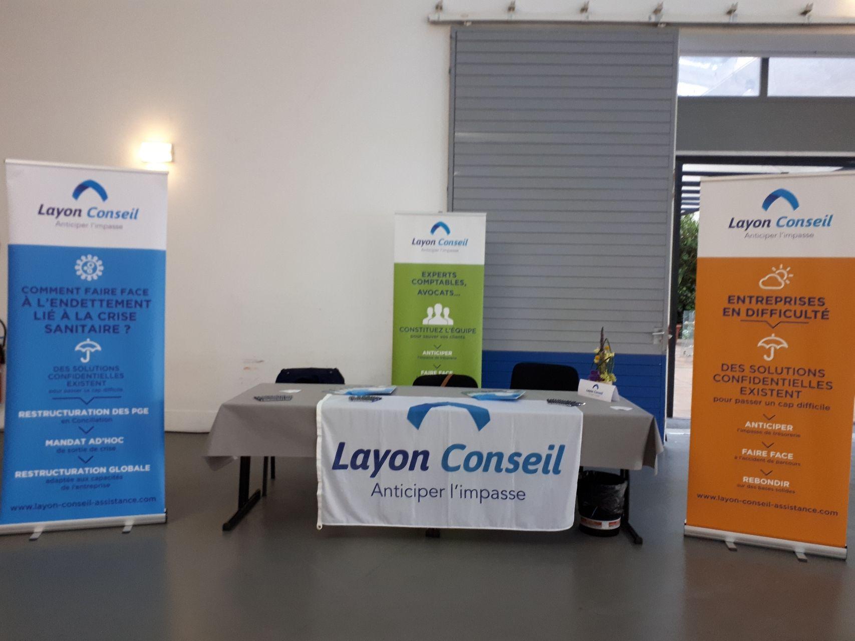 Stand Layon Conseil Université d'été 2021